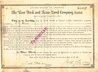 New York and Texas Land Company, Limited
