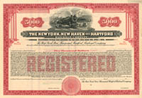New York, New Haven and Hartford Railroad Company $5,000 - SOLD