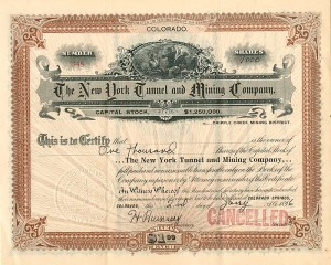 New York Tunnel and Mining Company