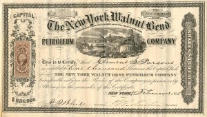 New York Walnut Bend Petroleum Company