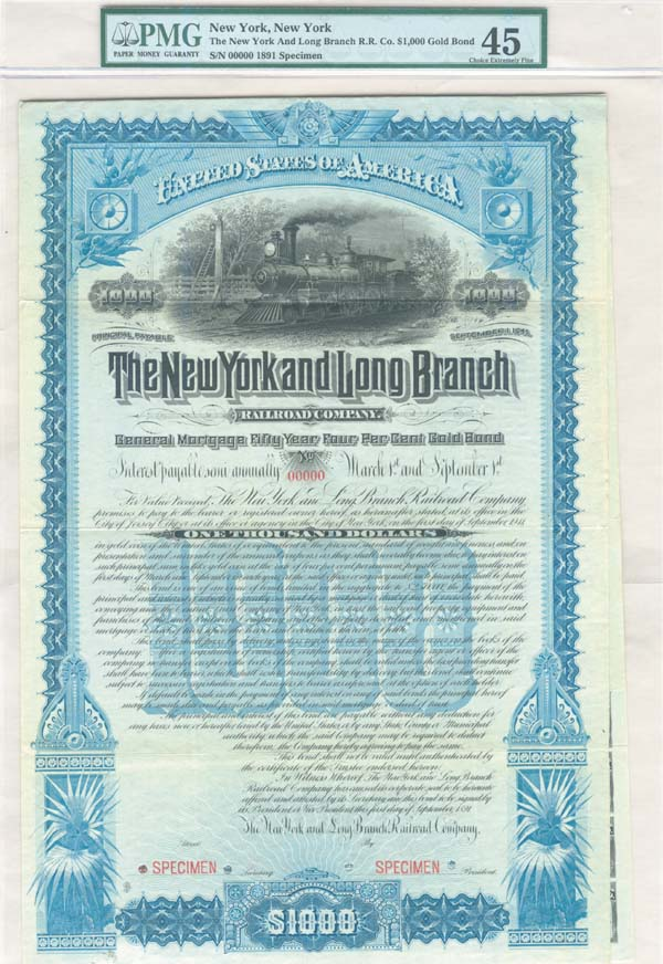 New York and Long Branch Railroad Company