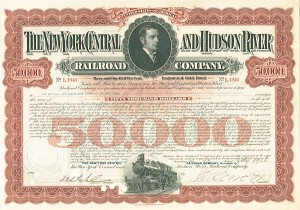 New York Central & Hudson River Railroad - Bond