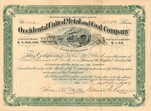 Occidental United Metal and Coal Company