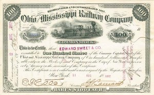 Ohio and Mississippi Railway Company