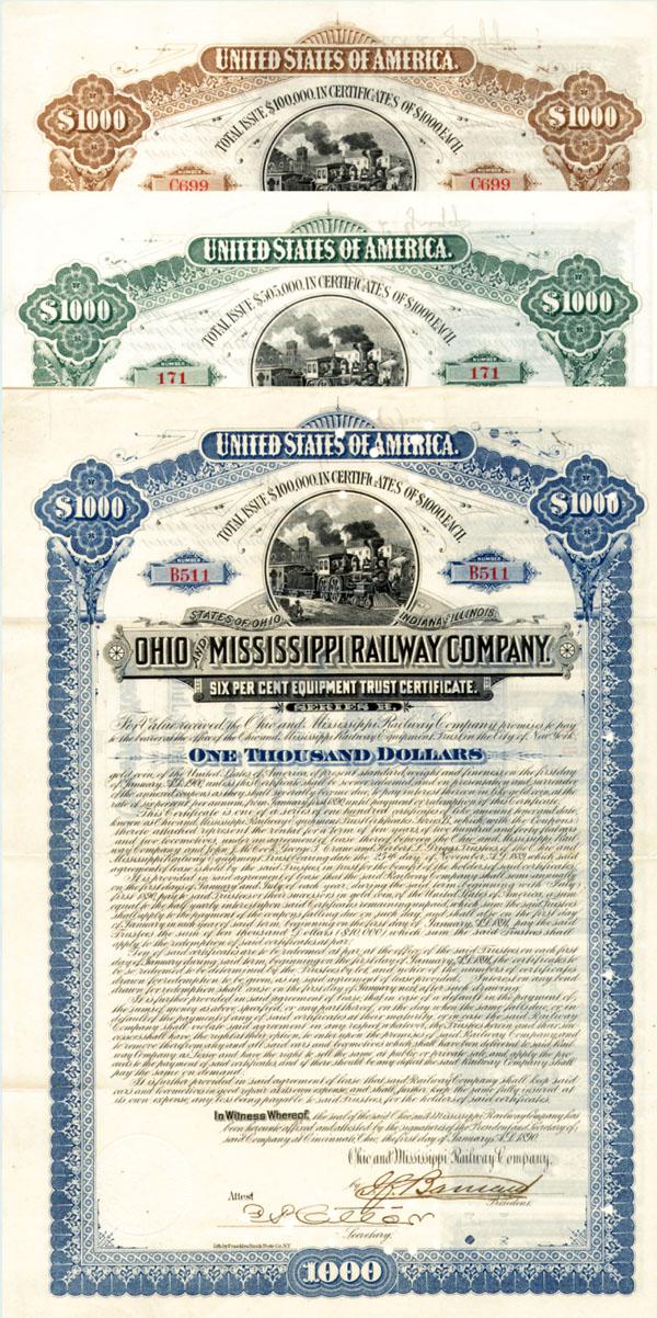 Ohio & Mississippi Railway Company