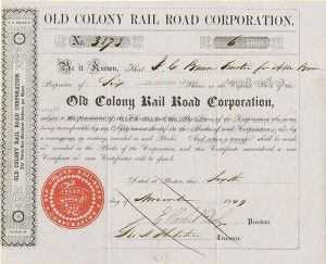 Old Colony Rail Road Corporation