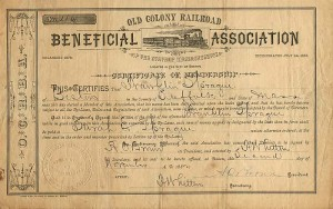 Old Colony Railroad Beneficial Association of the State of Massachusetts