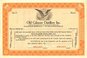 Old Gilmore Distillery Inc.