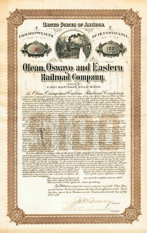 Olean, Oswayo & Eastern Railroad