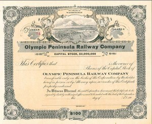Olympic Peninsula Railway