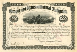 Oregon and Transcontinental Company