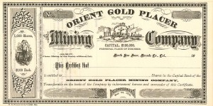 Orient Gold Placer Mining Company