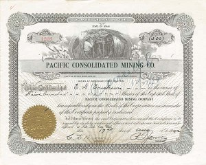 Pacific Consolidated Mining Co.