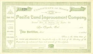Pacific Land Improvement Company
