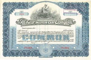 Packard Motor Car Company - SOLD
