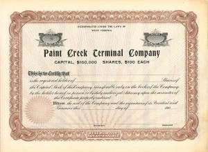 Paint Creek Terminal Company