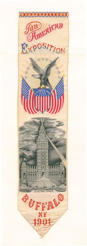 Pan American Exposition Ribbon - SOLD