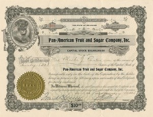 Pan=American Fruit and Sugar Company, Inc. - SOLD