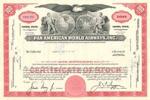 Pan American  World Airways, Inc