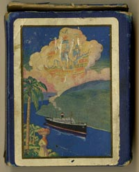 Panama Canal Playing Cards - SOLD