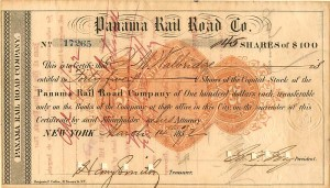Panama Rail Road Co. - SOLD