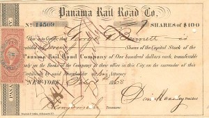 Panama Rail Road Company - SOLD