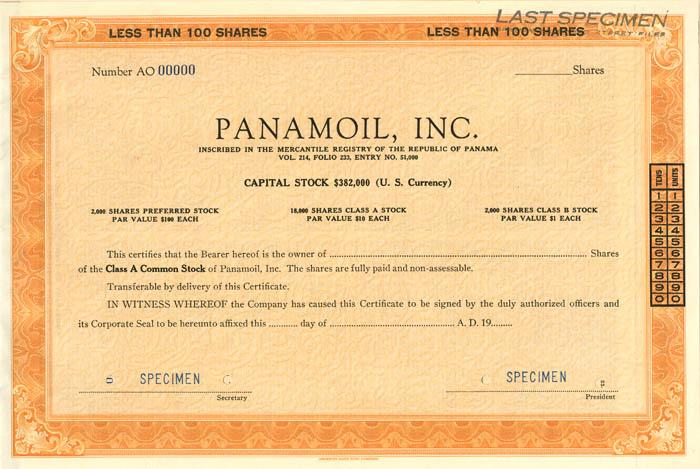 Panamoil, Inc.