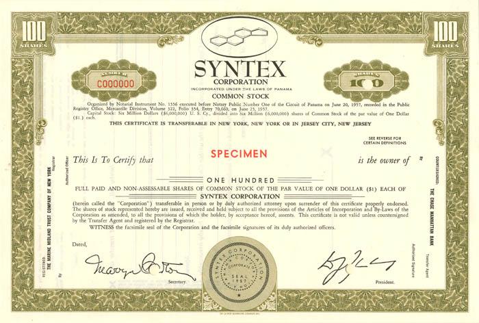 Syntex Corporation