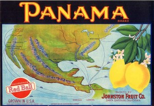 Fruit Crate Label - Panama