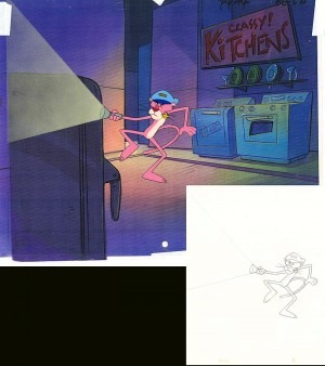 Pink Panther in Classy Kitchens