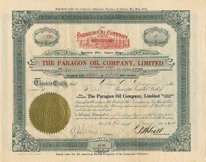 Paragon Oil Company, Limited
