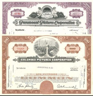 Columbia Pictures and Paramount Pictures - The Pair
