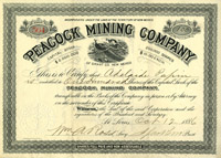 Peacock Mining Company - SOLD