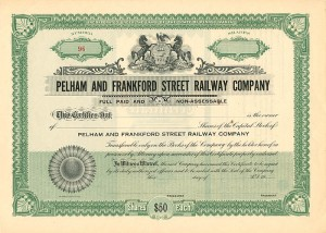 Pelham and Frankford Street Railway Company