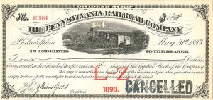 Pennsylvania Railroad Company - SOLD
