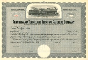 Pennsylvania Tunnel and Terminal Railroad Company