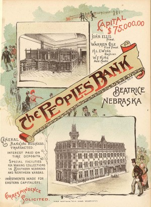 Peoples Bank Ad