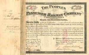 People's Passenger Railway Company of Philadelphia