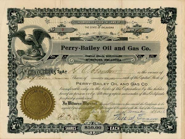 Perry-Bailey Oil and Gas Co.