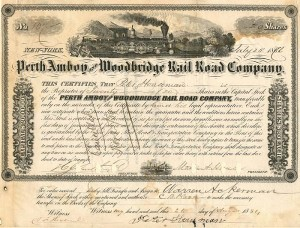 Perth Amboy and Woodbridge Rail Road Company
