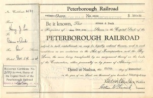 Peterborough Railroad
