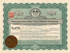 Peterson-Harnden Fluid Clutch Company