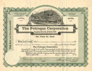 Petrogas Corporation - SOLD