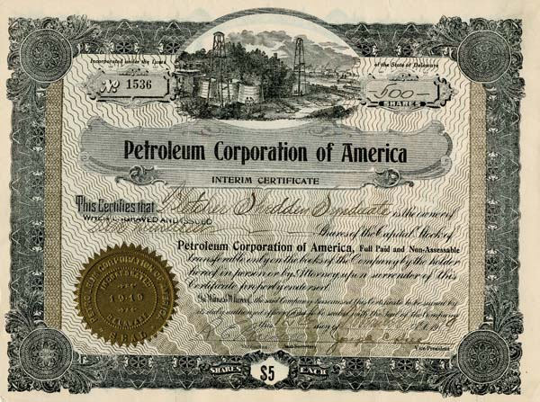 Petroleum Corporation of America