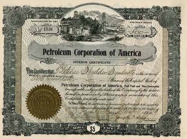 Petroleum Corporation of America