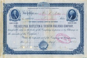Philadelphia, Bustleton & Trenton Railroad Company - SOLD