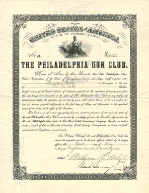Philadelphia Gun Club - SOLD