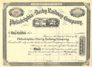 Philadelphia and Darby Railway Company