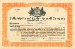 Philadelphia and Easton Transit Company