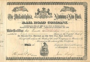 Philadelphia, Newtown & New York Railroad Company